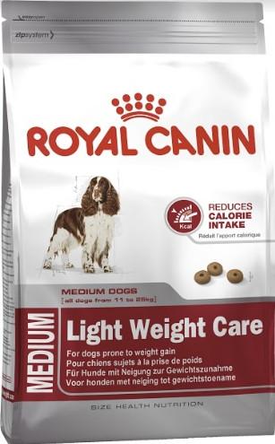 Royal Canin Medium Light Weight Care 3 кг для собак, склонных к полне