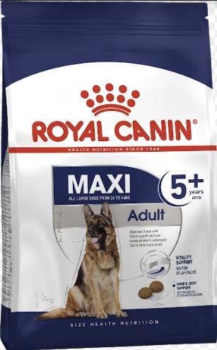 Сухой корм Royal Canin Maxi Adult 5+ для собак крупных пород старше 5 лет 15 кг