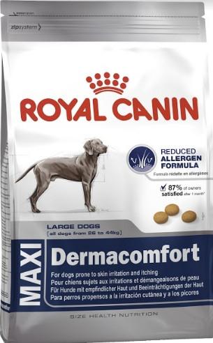 Royal Canin Maxi Dermacomfort 12 кг для собак крупных пород с раздражением кожи