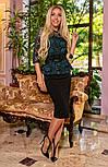 Женский костюм баская гипюровая и юбка-карандаш (3 цвета), фото 5