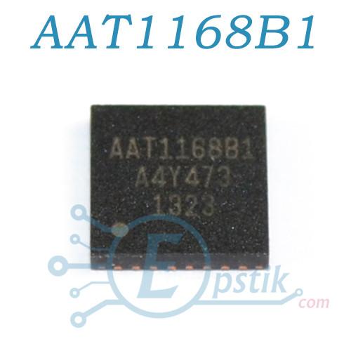 AAT1168B1, ШИМ-контроллер с операционным усилителем для LCD, VQFN32