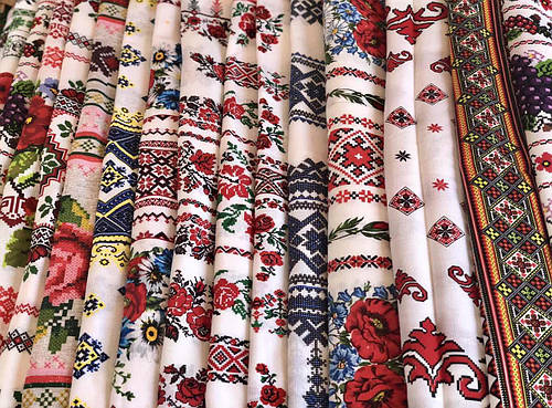 Кухонные полотенечки лен 40*70