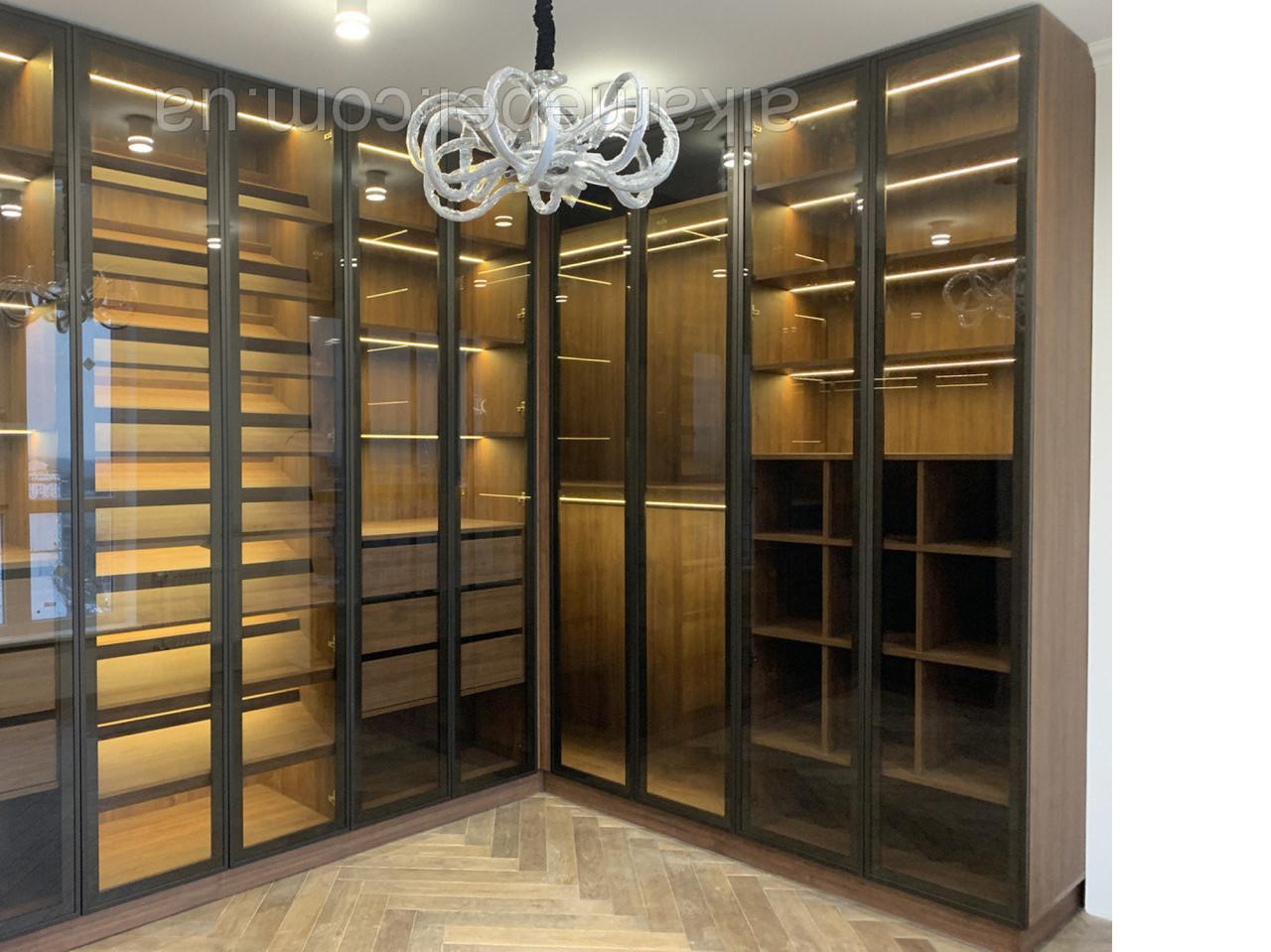 ae8209144b865 New 2019 Гардеробная комната на заказ V303 - Шкафы купе «Алька Мебель» в  Киеве