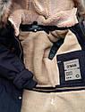 Куртка парка зимняя для мальчиков  Размеры 34- 38, фото 2