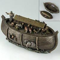 Статуэтка-шкатулка Ноев ковчег Veronese Италия 25*13 см (V-76675A4)