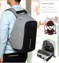 Міський Портфель Bobby Протикрадій рюкзак Боббі для ноутбука + ПОВЕР БАНК 10400мАч ПОДАРУНОК!