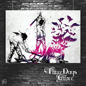 Постер Three Days Grace (60x85см)