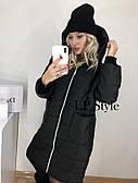 Куртка женская пальто очень теплое, синтепон 250, ТОЛЬКО ЧЕРНОЕ 42-46 рр.