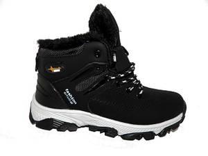 Кросівки зимові підліткові Situo K-08-1 чорний * 17248
