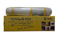 Теплый пол In-therm 185 двухжильный мат 1300 Вт/6.4 м2 (0.5х12.8 м) в стяжку (INT1851300)