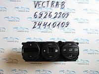 Блок управления печкой опель Вектра Б, opel Vectra B 69262209, 24410109