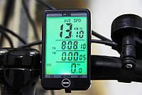 Беспроводной Велокомпьютер SunDing SD-576C сенсорный c подсветкой