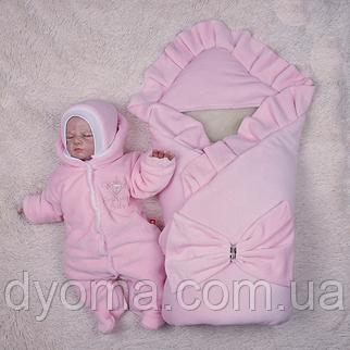 Зимний набор Мария+BB (розовый), фото 2