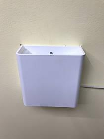 Фасадный уличный светильник двухсторонний  DH028 3W белый IP54 Код.59398