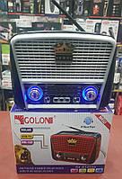 Радиоприемник Solar Charge GOLON RX-BT455S (AM / FM / SW / USB / TF / Bluetooth), фото 1