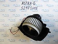 Вентилятор печки опель Астра H, opel Astra H 52421335 DELPH