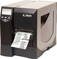 Промышленный принтер этикеток Zebra ZM400 бу
