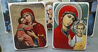 Иконы, фото на керамике, фарфоре и эмалированной металле, фото 1