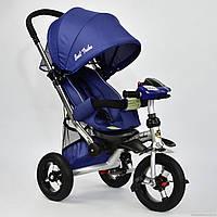Детский трёхколёсный велосипед 698-3 Синий