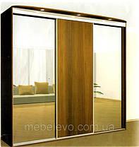 Шкаф-купе 3 двери Комфорт 210х60 h-210, ТМ Феникс, фото 2