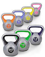 Набор с 8 гирь виниловых Hop-Sport 78 кг