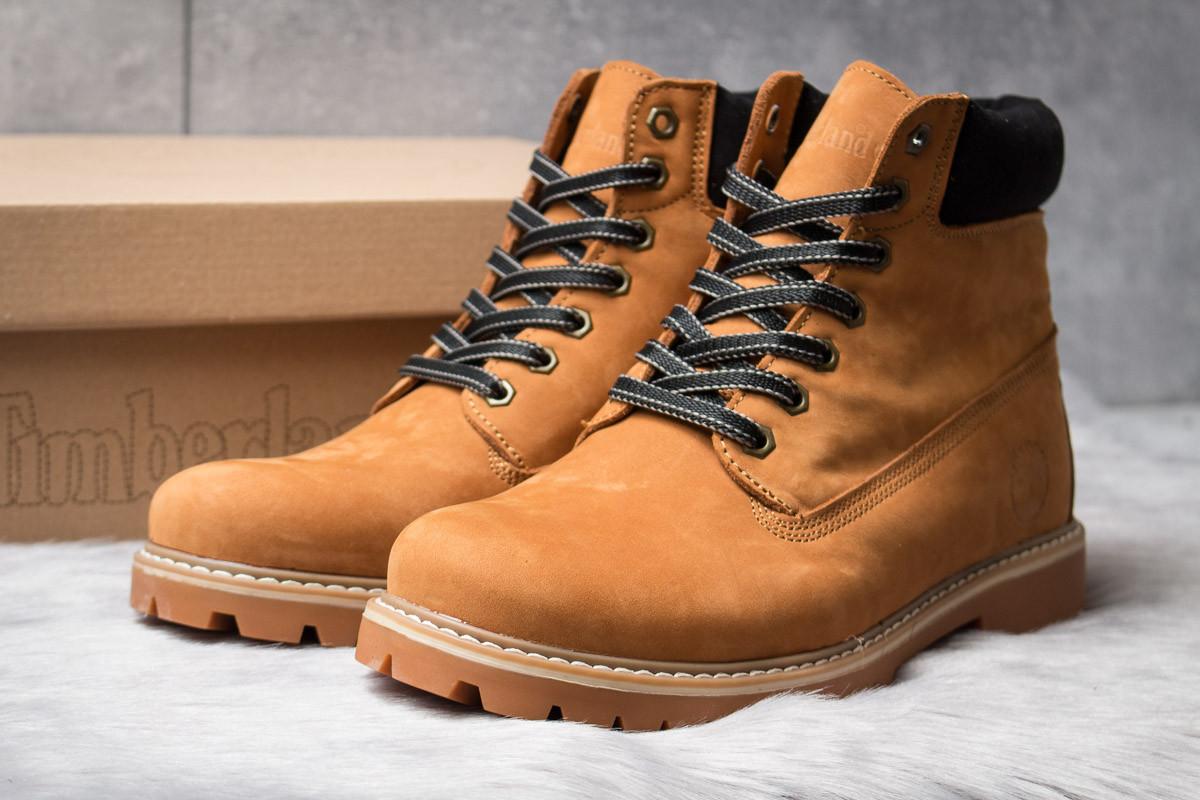 Зимние ботинки  на мехуTimberland Radford , рыжие (30335) размеры в наличии ► [  43 44  ]