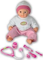 Интерактивная кукла Принцесса Кароли у врача.