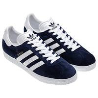 Мужские кроссовки Adidas Gazelle OG темно-синие