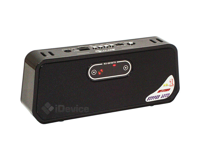 Портативная колонка Golon RX-S01BTD Bluetooth, USB