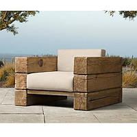 Кресло дизайнерское WorkShop массив Дуб (А200251)