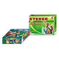 "Кубики Технок 12 кубиков ""Сказки"" (6 видов)"