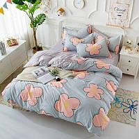 Комплект постельного белья Большие цветы (полуторный) Berni