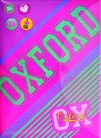 Папка-конверт на кнопке А4 YES Oxford pink