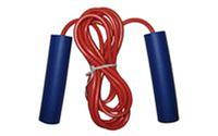 Скакалка KEPAI JL0702 (резина, неопрен, l -2,8м с ручками, d-5мм)