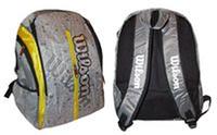 Ранец спортивный BACKPACK WILS 6115 (PL, р-р 40*33*21см, красный, синий, зеленый,желтый)