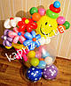 Букет из воздушных шаров Позитивный клоун