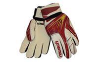 Перчатки вратарские + PVC чехол FB-824 REUSCH (PVC, р-р 8, 9, 10, красный, черный, синий)