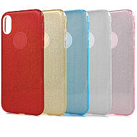 Чехол TWINS с блестками Apple iPhone X