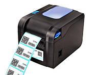 Термопринтер Xprinter XP-370B New для печати этикеток (10027)
