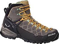 Ботинки Salewa WS ALP Trainer Mid GTX 63433 7505 - 37 Светло-коричневый с черным (uoyasz)