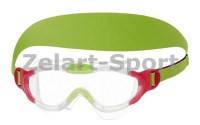 Очки (полумаска) для плавания детские SPEEDO 808763(СР,TPR,неопрен,цвета в ассортимент)