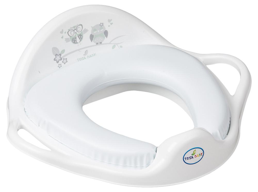 Накладка на унитаз Tega Owl SO-020 Soft мягкая 103 white