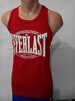Майка спортивная Everlast (боксерка, красный)