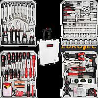 Набір інструментів універсальний Boxer BX-599, 127 предметів, набір інструментів для дому у валізі, фото 1