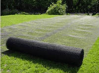 Сетка пластиковая Г9- Газон от крота (2м*30м, яч.9*9мм), сетка от кротов