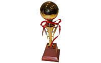 Кубок C-303 (металл, пластик, высота 32см,чаша 7см, золото)