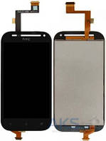 Дисплей (экран) для телефона HTC One SV C520e T528t + Touchscreen Original Black
