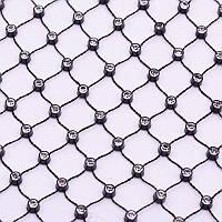 Нашивная стразовая сетка, отрезок 0,5м