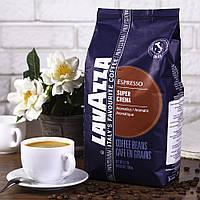 Кофе в зернах - Lavazza Super crema - 1 кг