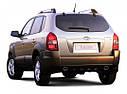 Заднее стекло Hyundai Tucson (2004-2015) с обогревом | Заднє скло Хюндай| Заднее автостекло Хюндай Туксон, фото 2